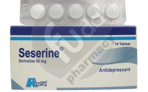 سيسيرين أقراص لعلاج الاكتئاب والوسواس القهرى Seserine Tablets