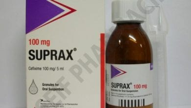 سوبراكس كبسولات شراب مضاد حيوى واسع المجال Suprax