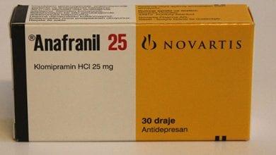 أنافرانيل أقراص لعلاج القلق والخوف والوسواس القهرى Anafranil Tablets