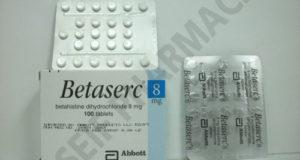 بيتاسيرك أقراص لعلاج الدوخة والدوار واضطرابات الدورة الدموية Betaserc Tablets