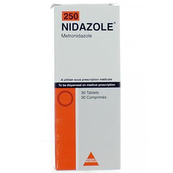 نيدازول أقراص مضاد حيوى واسع المجال Nidazole Tablets