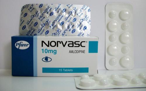 نورفاسك كبسولات لعلاج ارتفاع ضغط الدم Norvasc Capsules