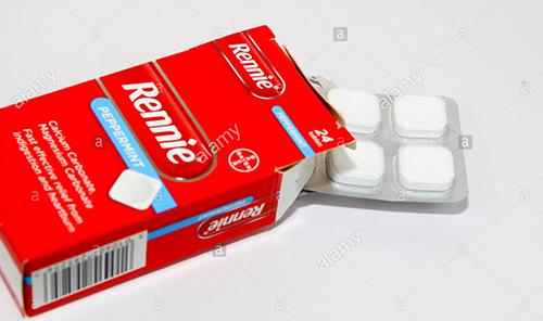 ريني أقراص لعلاج حرقة المعدة والقرحة الهضمية Rennie Tablets