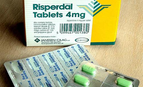 ريسبيردال أقراص لعلاج القلق والخوف والاكتئاب Risperdal Tablets