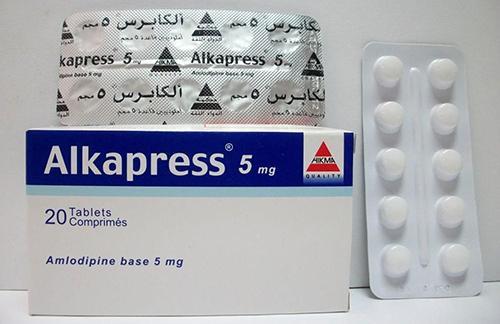 ألكابرس أقراص لعلاج ضغط الدم المرتفع والذبحة الصدرية Alkapress Tablets