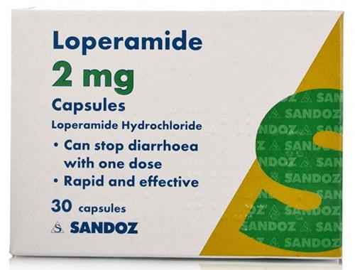 لوبراميد كبسولات لعلاج الإسهال Loperamide Capsules