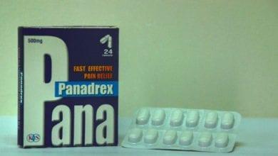 بانادريكس أقراص مسكن للالم وخافض للحرارة Panadrex Tablets