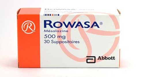 روازا أقراص لعلاج التهابات القولون التقرحى Rowasa Tablets