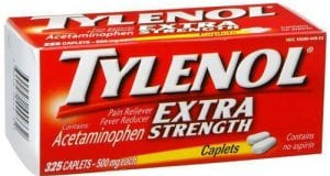 تايلينول أقراص مسكن للالم وخافض للحرارة Tylenol Tablets