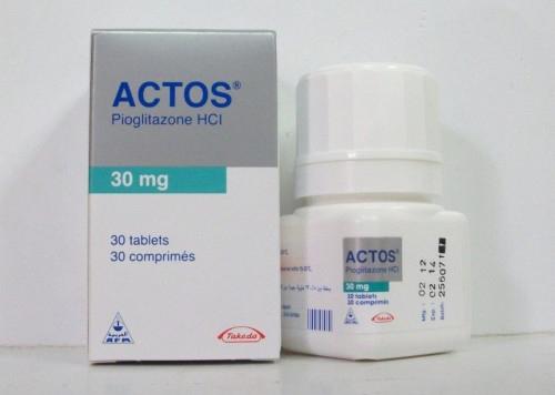أكتوس أقراص لعلاج السكر Actos Tablets