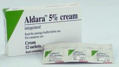 الدارا كريم موضعي لعلاج سرطان الجلد Aldara Cream