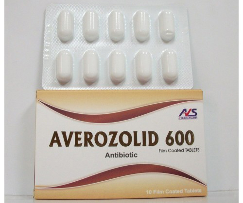 أفيروزوليد أقراص مضاد حيوي واسع المجال Averozolid Tablets