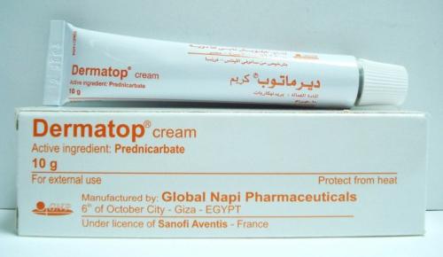 ديرماتوب كريم لعلاج للالتهابات البكتيرية Dermatop Cream