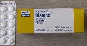 دياموكس اقراص لإدرار البول Diamox Tablets