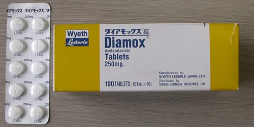 دياموكس اقراص لإدرار البول Diamox Tablets