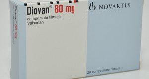 ديوفان أقراص لعلاج أمراض القلب والضغط المرتفع Diovan Tablets