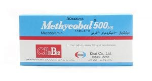 ميثيكوبال أقراص لعلاج الأعصاب الطرفية Methycobal Tablets