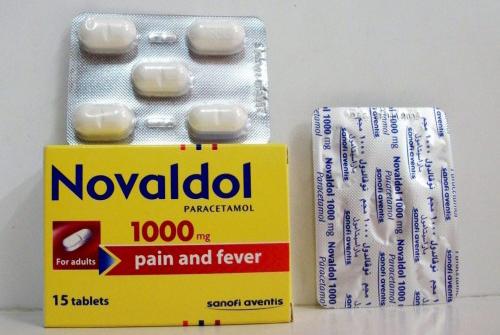 نوفالدول أقراص مسكن وخافض للحرارة Novaldol Tablet