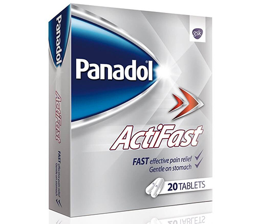 بنادول أكتيفاست أقراص مسكن للآلام وخافض للحرارة Panadol Actifast Tablets