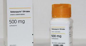 سالازوبيرين أقراص لعلاج إلتهاب الامعاء Salazopyrin Tablets