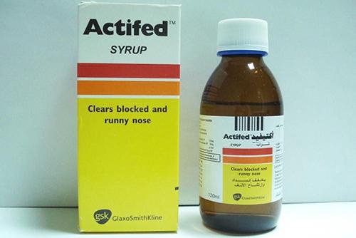 أكتيفيد شرابActifed Syrup