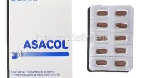 أساكول أقراص لعلاج التهابات القولون التقرحى Asacol Tablets