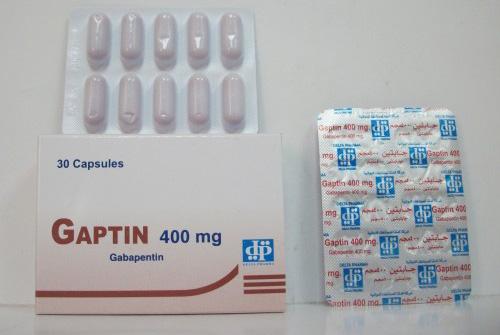 جابتين كبسولات لعلاج الصرع وعلاج التهابات الأعصاب Gaptin Capsules
