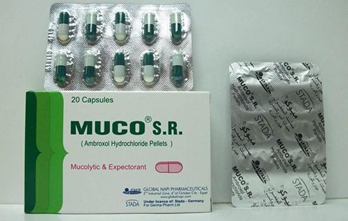 ميوكو اس ار كبسولات لعلاج أمراض الجهاز التنفسي Muco S.R Capsules