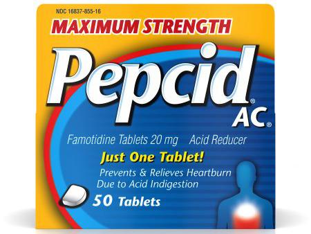 بيبسيد أقراص لعلاج القرحة والارتجاع المريئى Pepcid Tablets