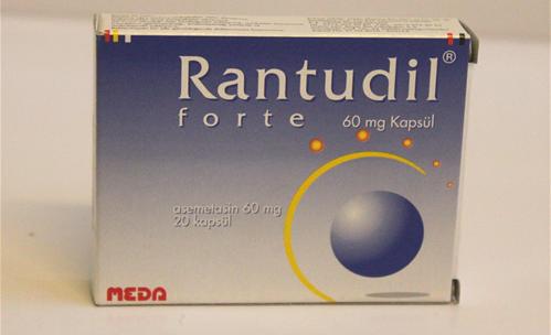 رانتوديل فورت كبسولات مسكن ومضادات للالتهاب Rantudil Forte Capsules