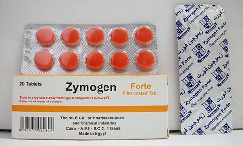 زيموجين أقراص لعلاج مشاكل الجهاز الهضمي Zymogen Tablets