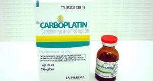 كاربوبلاتين حقن لعلاج سرطان الرئة والمبيض Carboplatin Injection