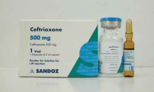 سيفترياكسون حقن مضاد حيوي واسع المجال Ceftriaxone Injection