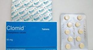 كلوميد أقراص لتنشيط التبويض وعلاج ضعف المبايض Clomid Tablets