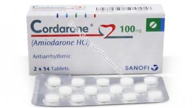 كوردارون أقراص لتنظيم ضربات القلب Cordarone Tablets