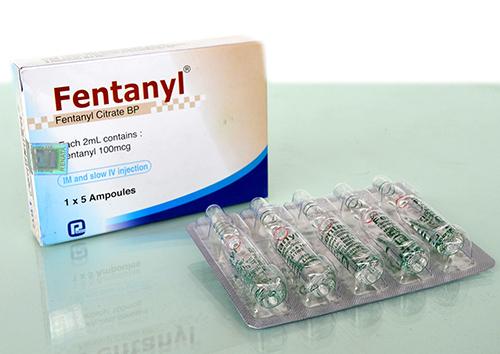 فنتانيل حقن مسكن للألم ومضاد للالتهابات Fentanyl Injection