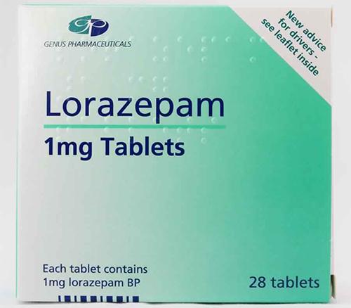 لورازيبام أقراص لعلاج التشنجات العصبية Lorazipam Tablets