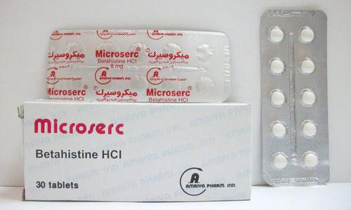 ميكروسيرك أقراص لعلاج الدوخة والدوار Microserc Tablets