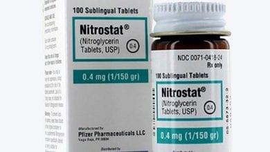 نيتروستات أقراص لعلاج الذبحة الصدرية Nitrostat Tablets