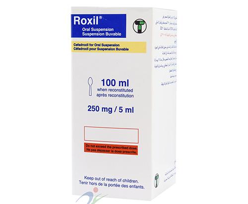 روكسيل شراب مضاد حيوى واسع المجال Roxil Syrup