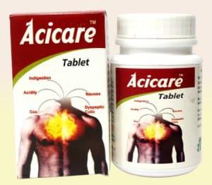 أسيكير أقراص لعلاج الحموضة وقرحة المعدة Acicare Tablets