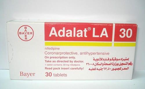 أدالات أقراص لعلاج الذبحة الصدرية Adalat Tablets