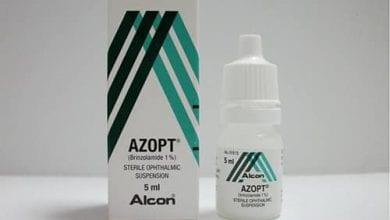 أزوبت قطرة لعلاج ارتفاع ضغط العين Azopt Eye Drops