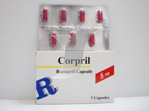 كوربريل كبسولات لعلاج فشل القلب الاحتقانى وضغط الدم المرتفع Corpril Capsules