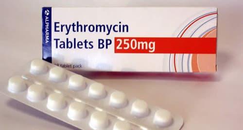 إريثرومايسينأقراص مضاد حيوى واسع المجال Erythromycin Tablets