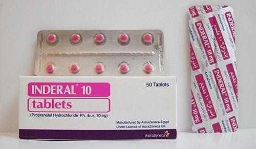 إندرال أقراص لعلاج عدم إنتظام ضربات القلب Inderal Tablets