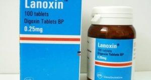 لانوكسين أقراص لعلاج حالات فشل القلب Lanoxin Tablets