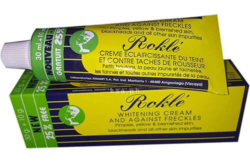 روكله كريم لتبيض البشرة وعلاج البقع الداكنةRokle Cream