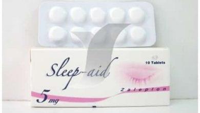 سليب ايد أقراص لعلاج الأرق ومهدئ لاضطرابات النوم Sleep Aid Tablets