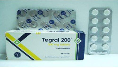 تيجرال أقراص لعلاج الصرع النفسى Tegral Tablets